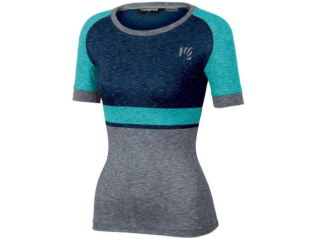 Karpos Verve T-shirt Femme, insignia blue/bluebird